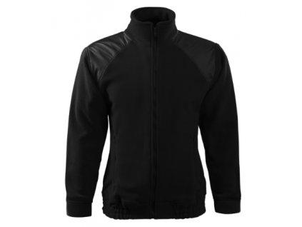 Jacket Hi-Q Fleece unisex (Barva ebony gray, Velikost 3XL)