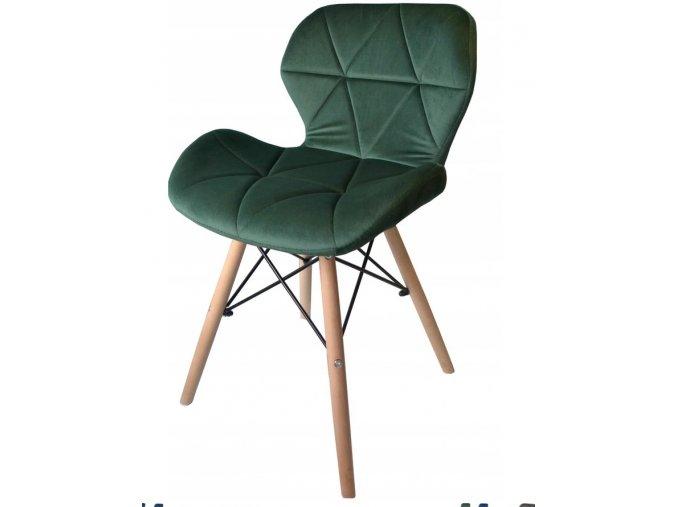 Jidelní židle SKY zelená