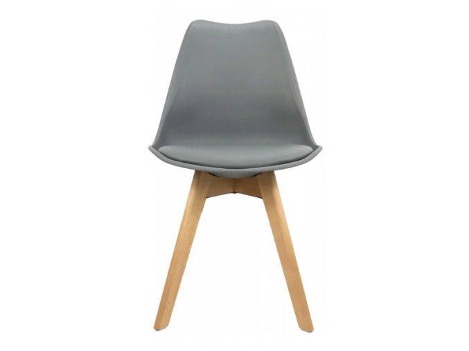 Jídelní židle JULIE šedá