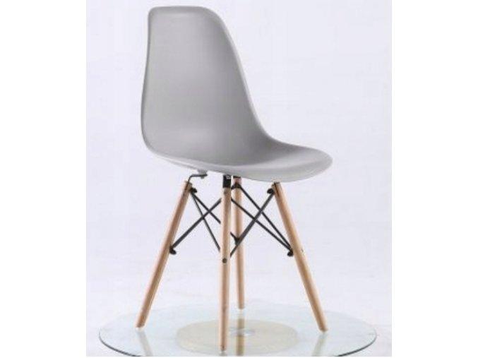 Jídelní židle BASIC šedá