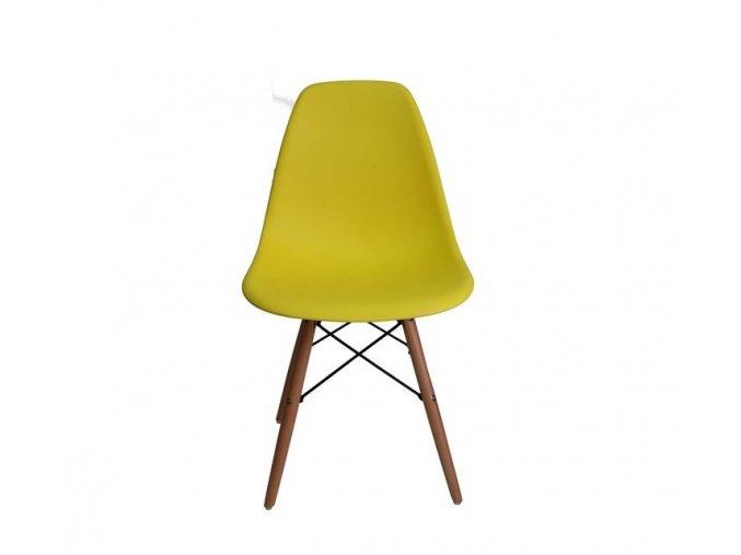 Jídelní židle BASIC žlutá
