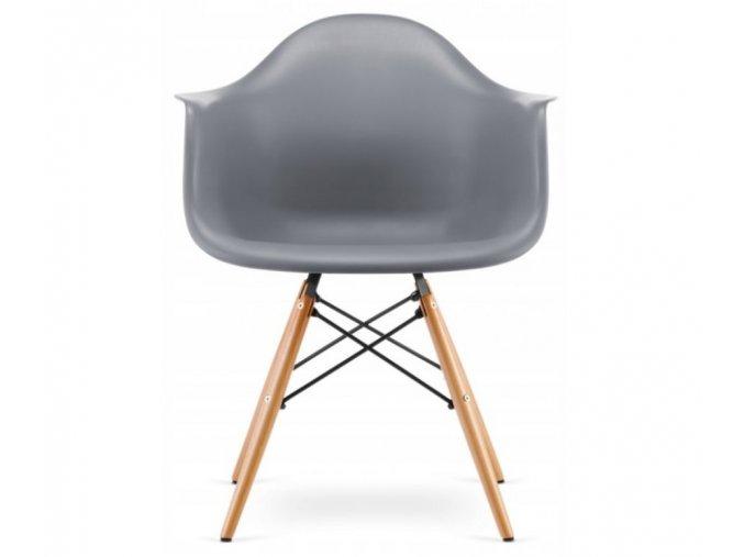 Jidelní židle WAVE šedá
