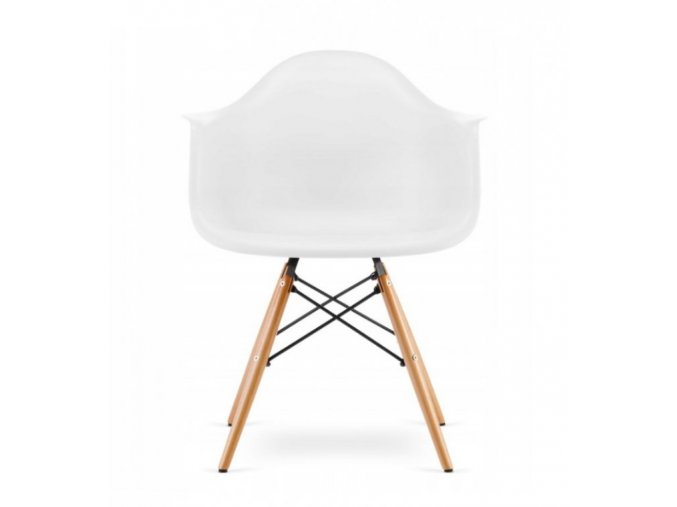 Jídelní židle WAVE bílá
