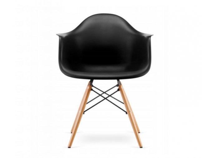 Jídelní židle WAVE černá