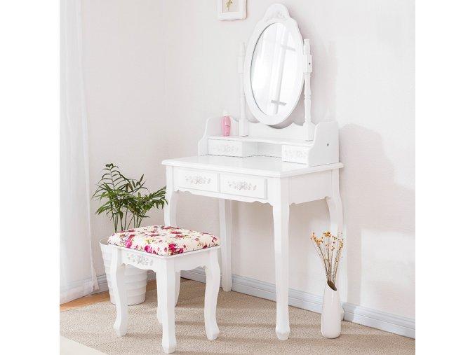 Toaletní stolek Barocco Rose