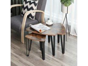Třídílný konferenční stolek