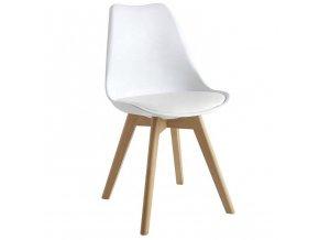 Jídelní židle JULIE bílá