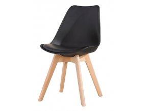 Jídelní židle JULIE černá