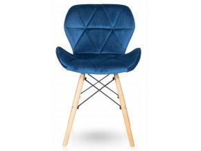 Jidelní židle SKY modrá
