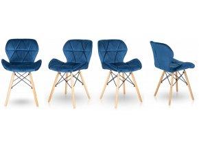 Jídelní židle SKY modrá