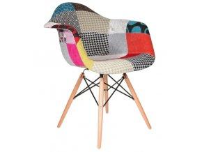 Jídelní židle Wave Patchwork Olivie