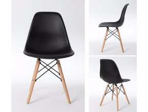 Jídelní židle BASIC černá
