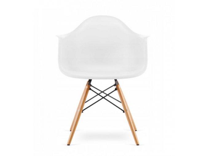 Jedálenská stolička WAVE biela