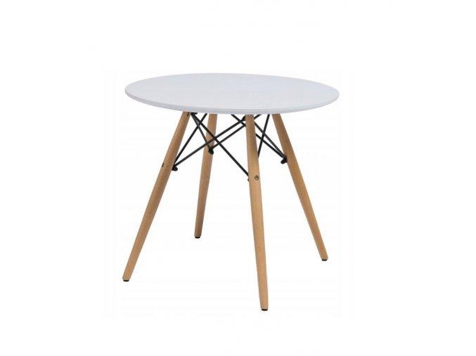 Okrúhly jedálenský stôl Scandi 100 cm