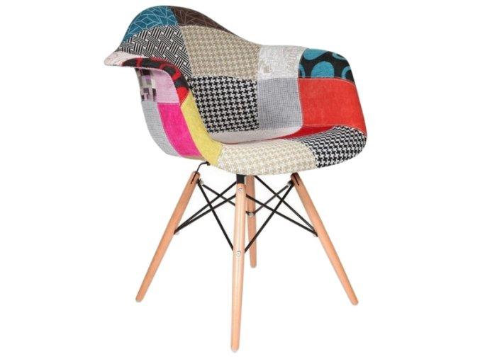 Jedálenská stolička Wave Patchwork Olivia