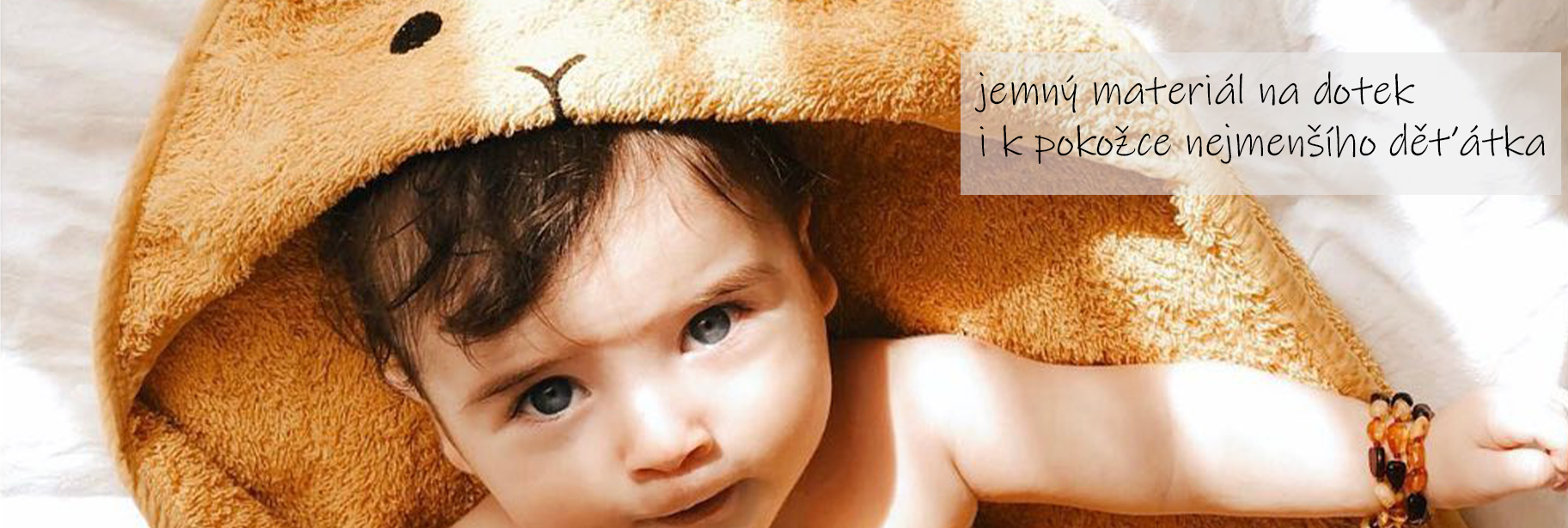 Osušky pro miminka