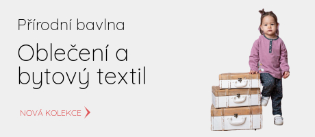 dětské oblečení z přírodní bavlny