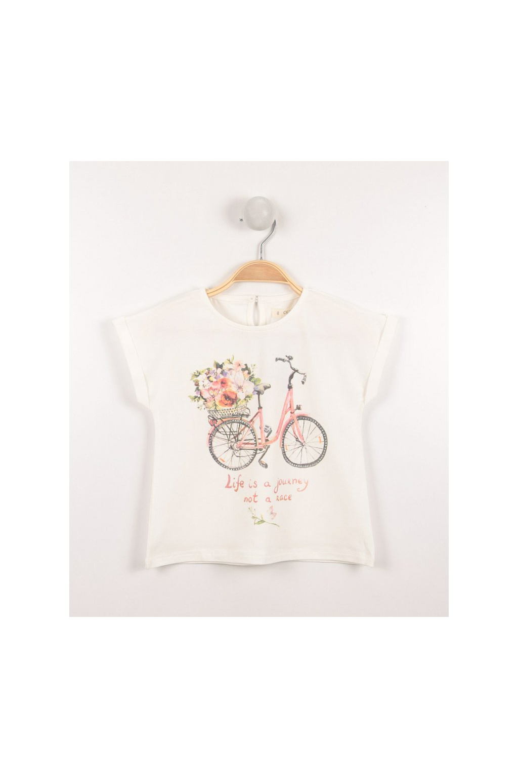 Dívčí tričko bike Cigit Kids