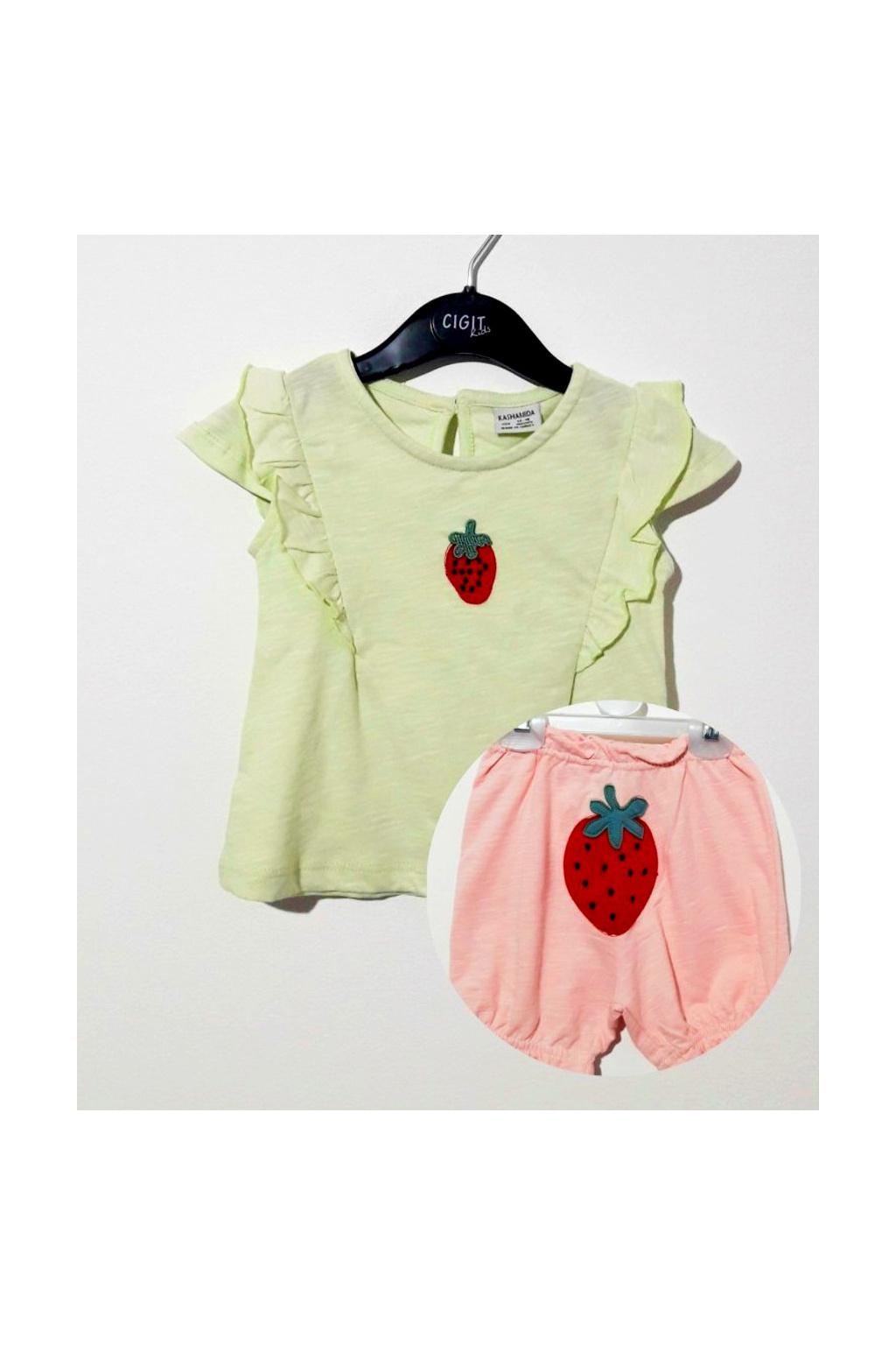 Dívčí set tričko a šortky