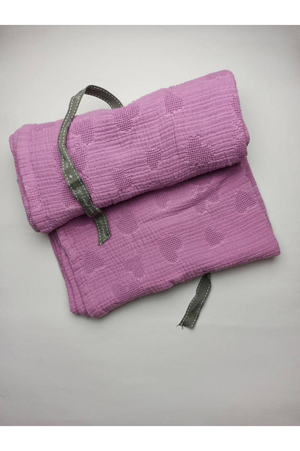 Dětská deka 100x130 cm fialová
