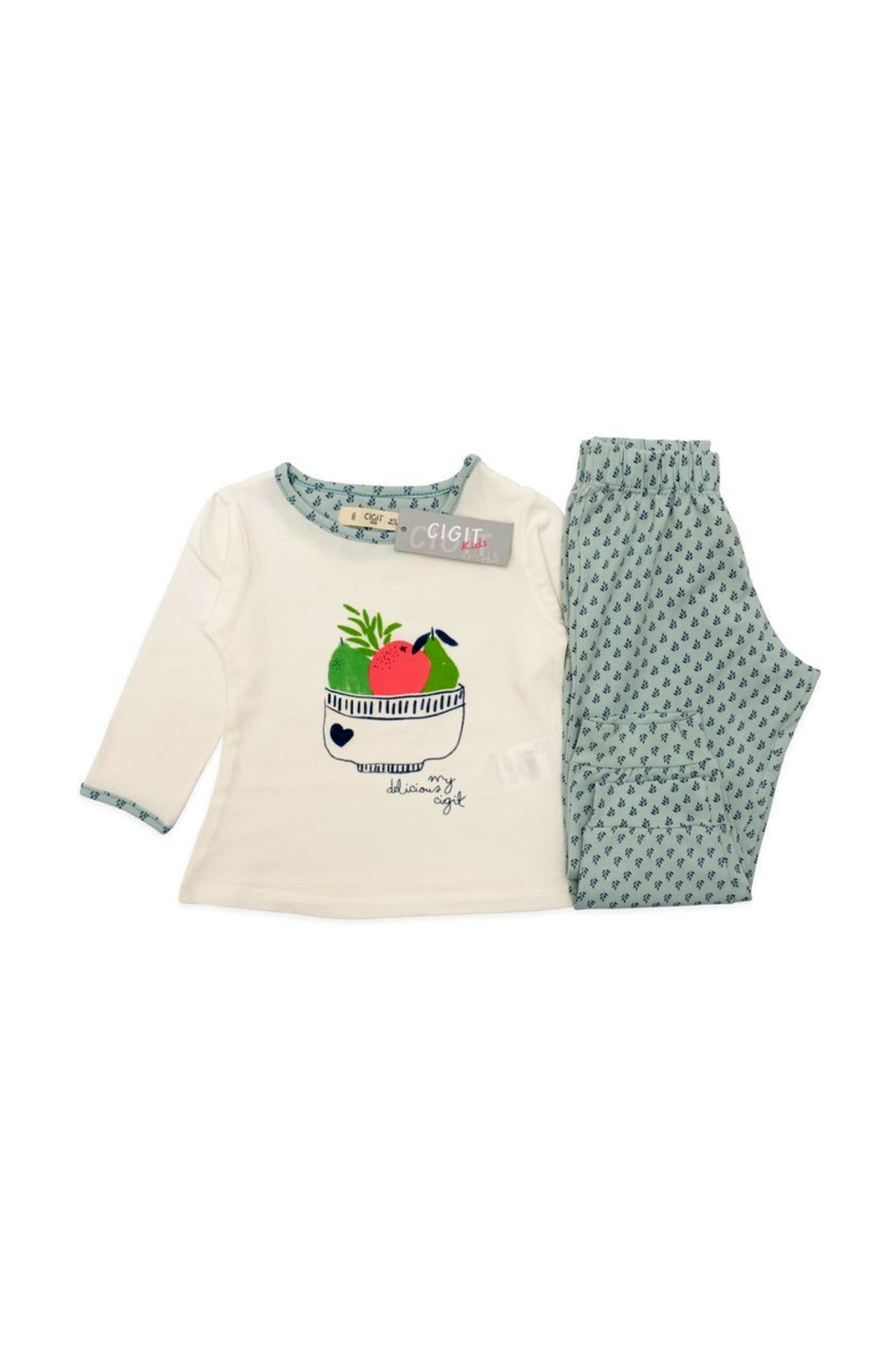 kvalitní dívčí pyžamo