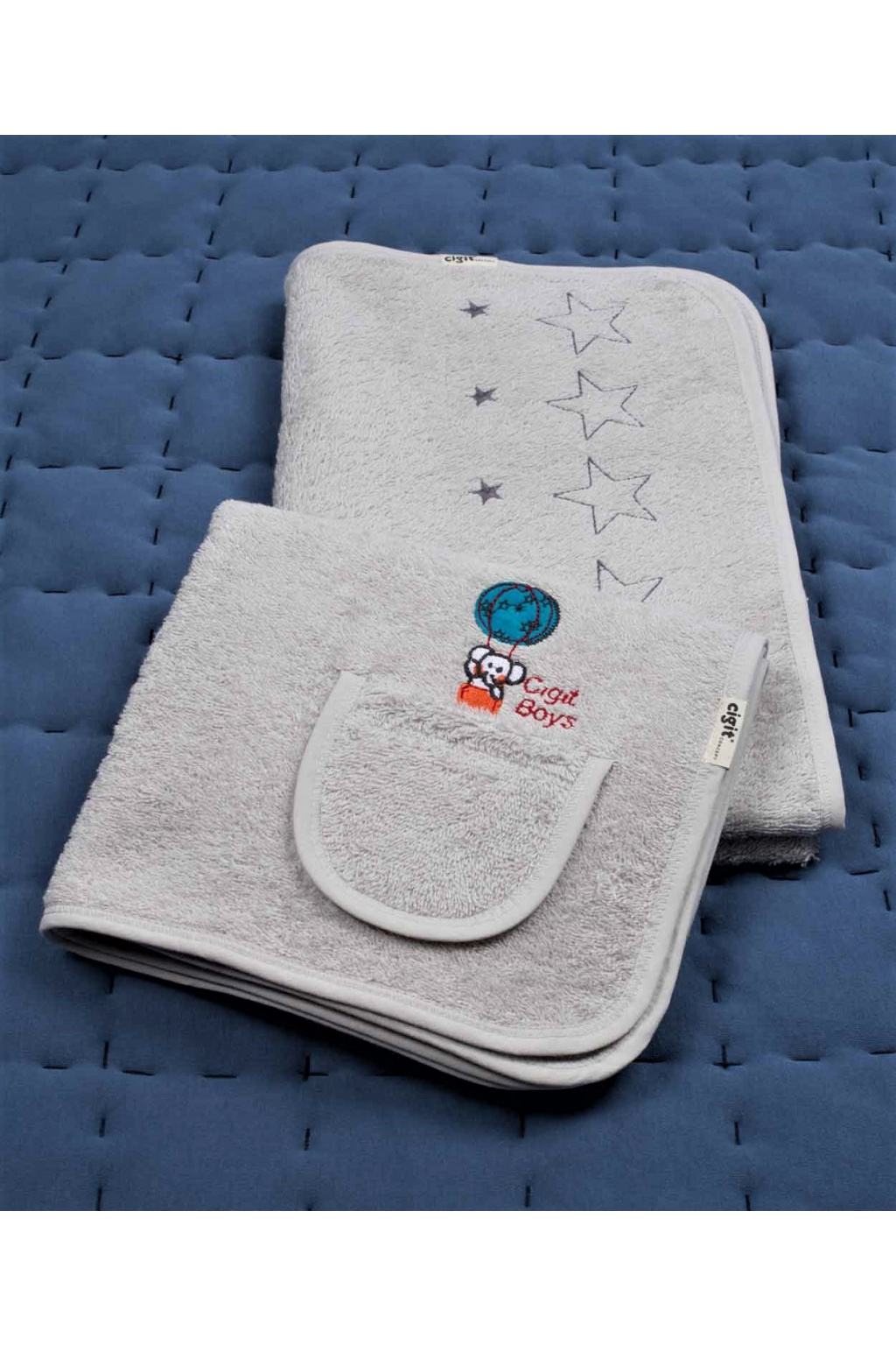 Dětský ručník a osuška set