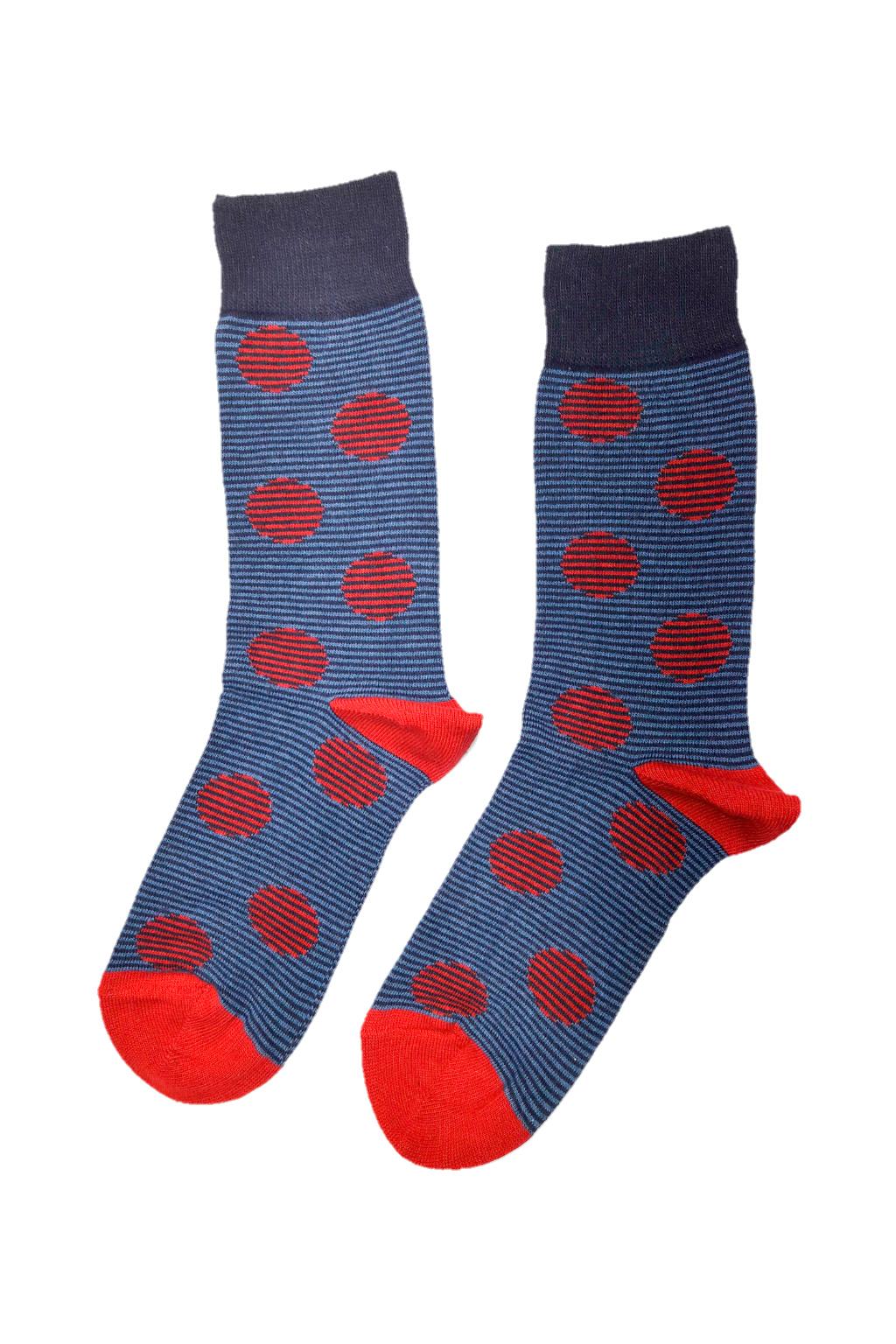 Veselé ponožky tečky