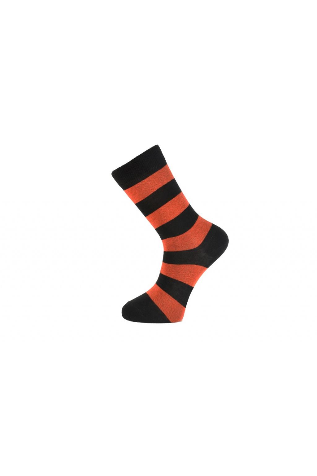 Pánské ponožky s hrubšími proužky