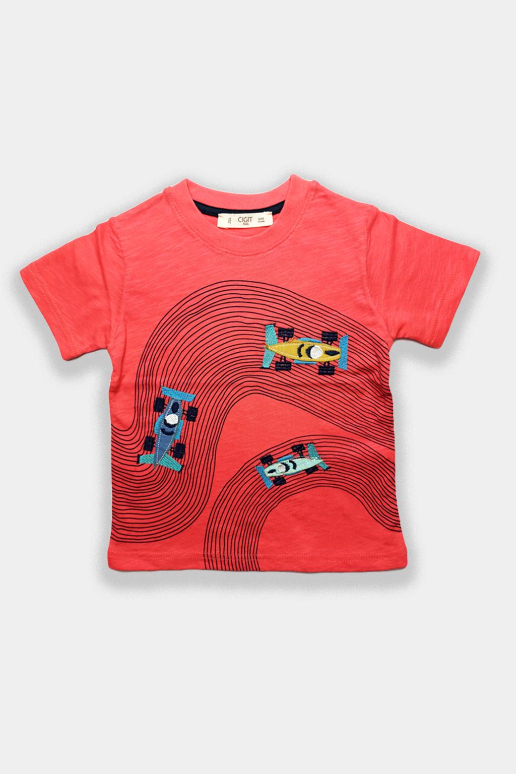 Chlapecké formula tričko organic