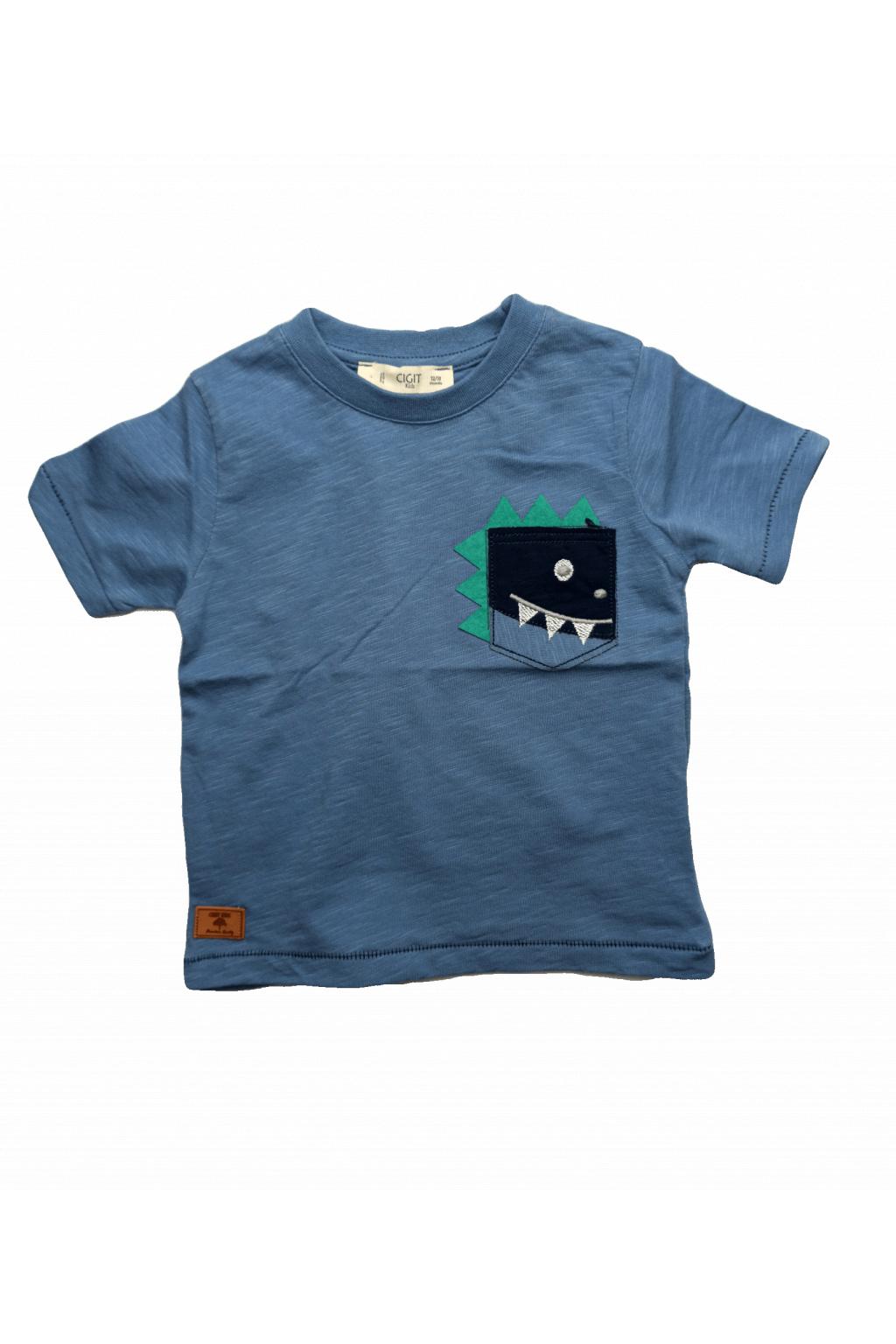 Vzdušné chlapecké tričko
