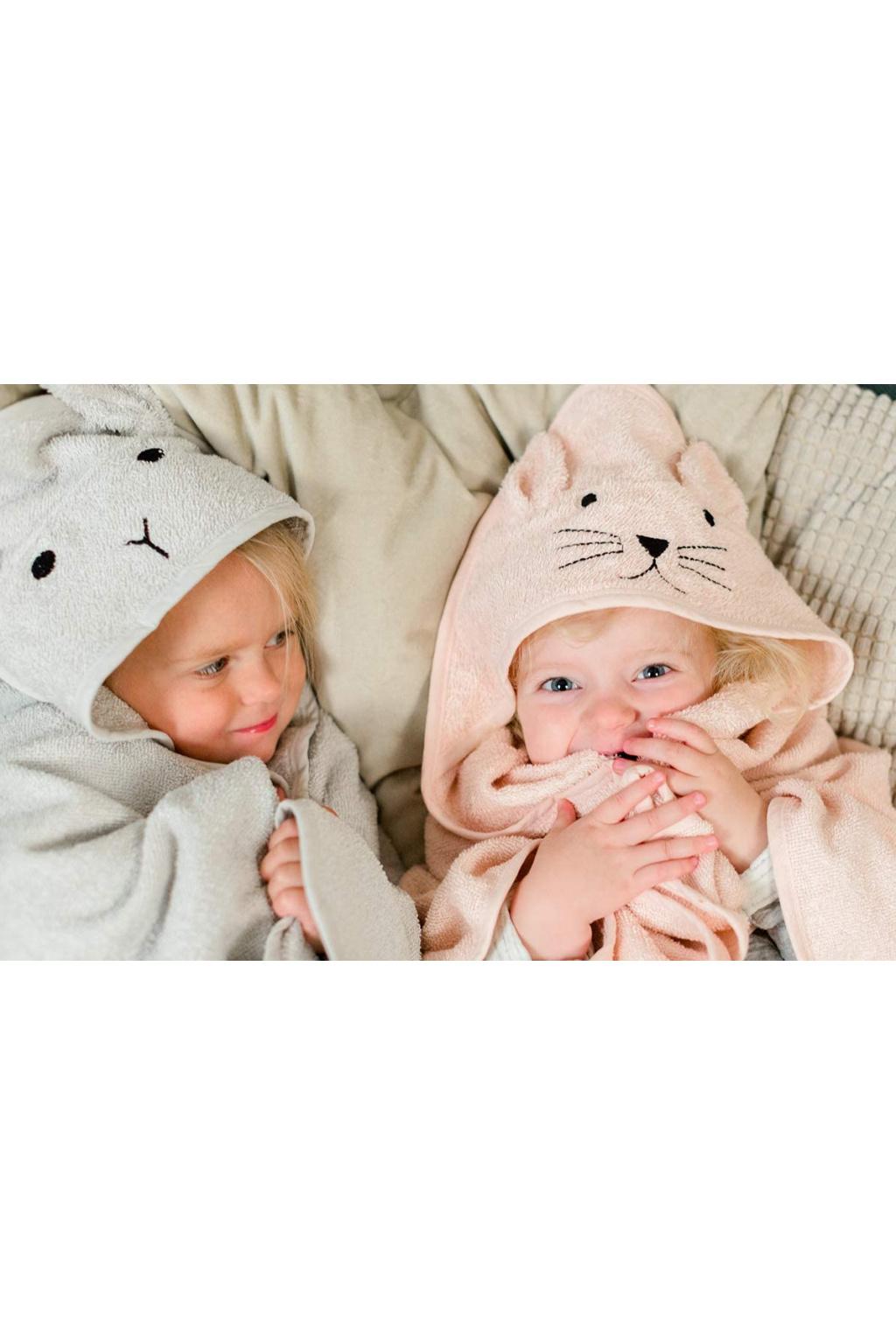 dětská osuška s kapucí