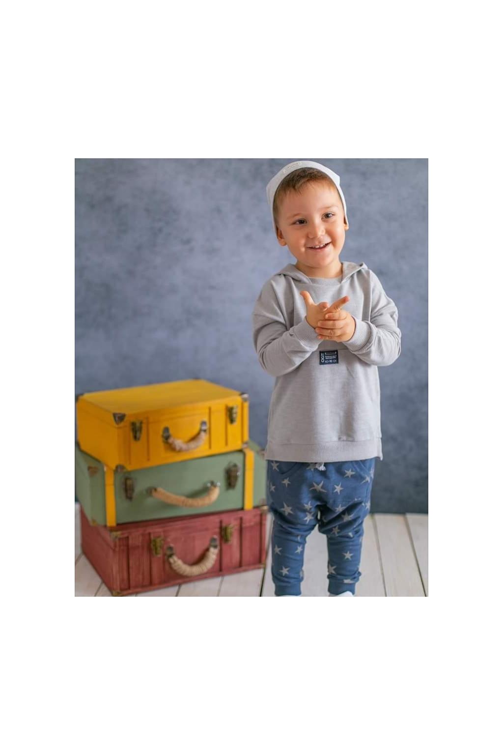 Stylová dětská souprava mikina a tepláky