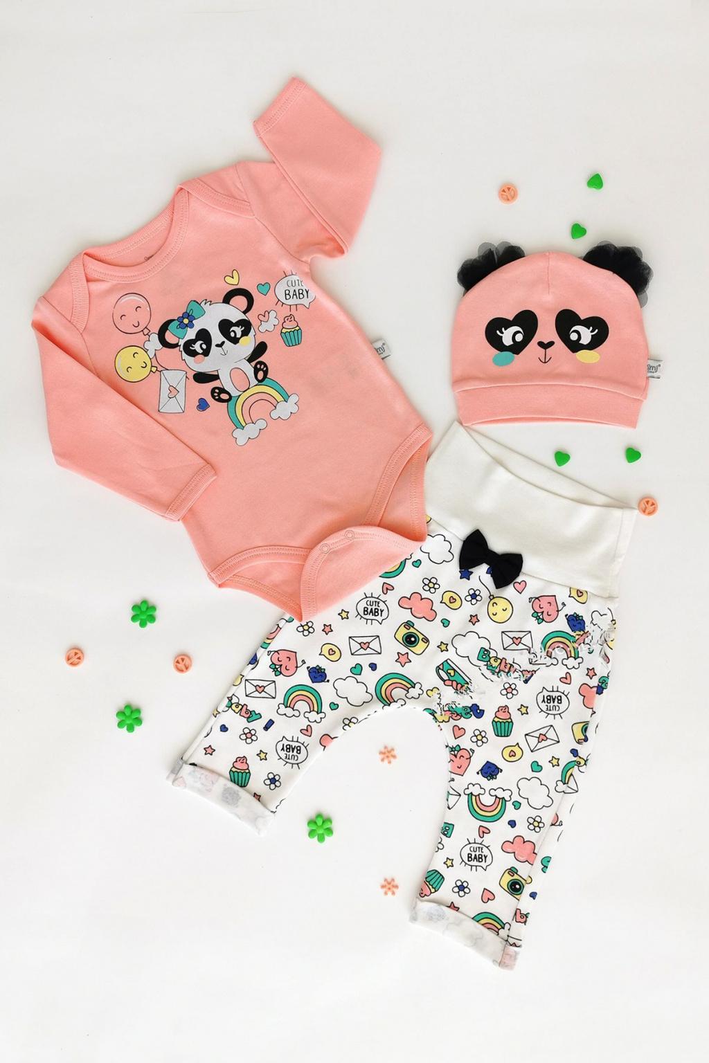 Kojenecky set Panda