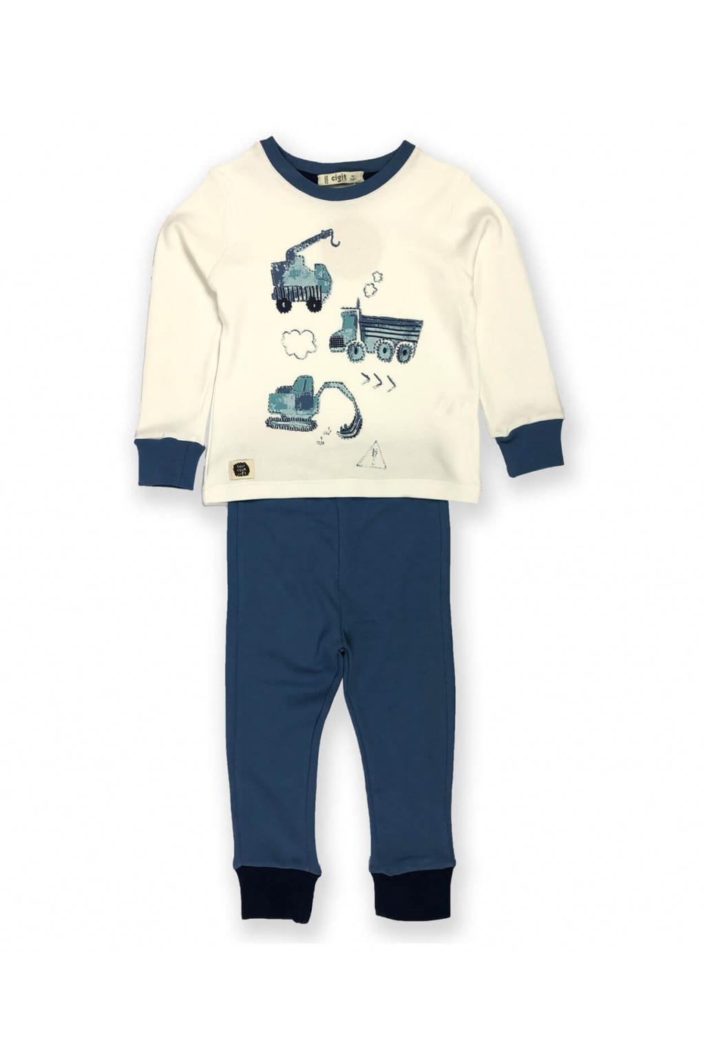 Pohodlné chlapecké pyžamo