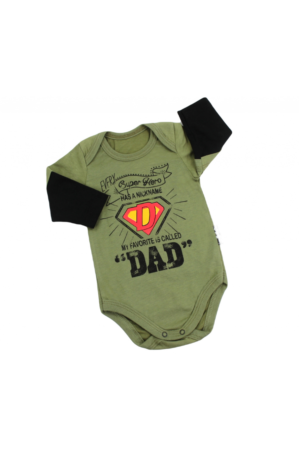 Kojenecké body Super Dad