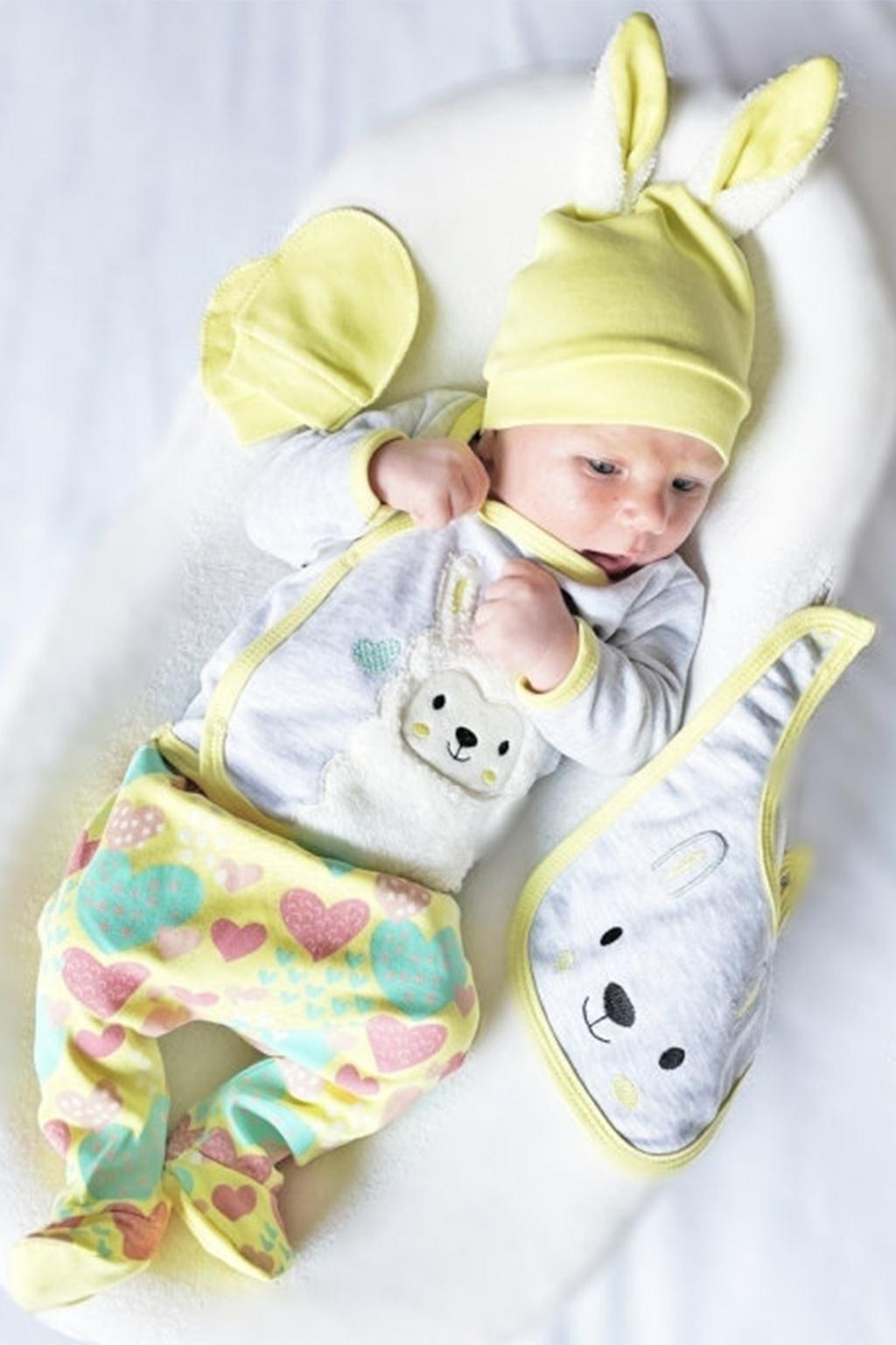 5 dílná kojenecká souprava Beránek