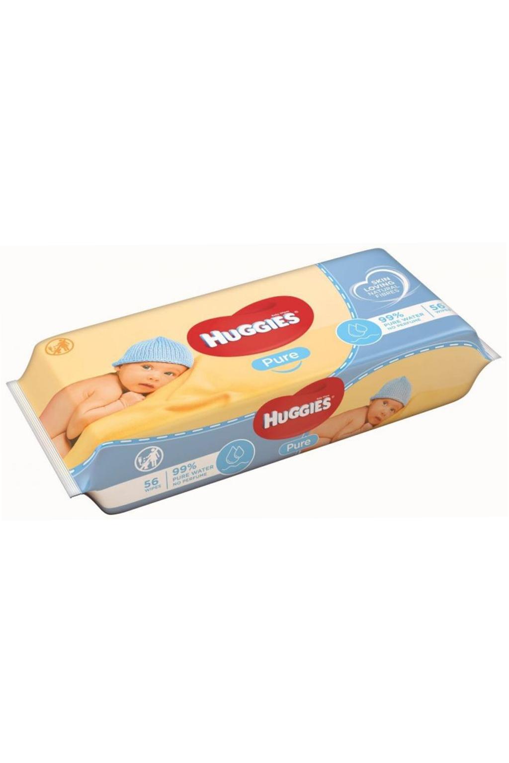 Huggies vlhčené ubrousky Pure
