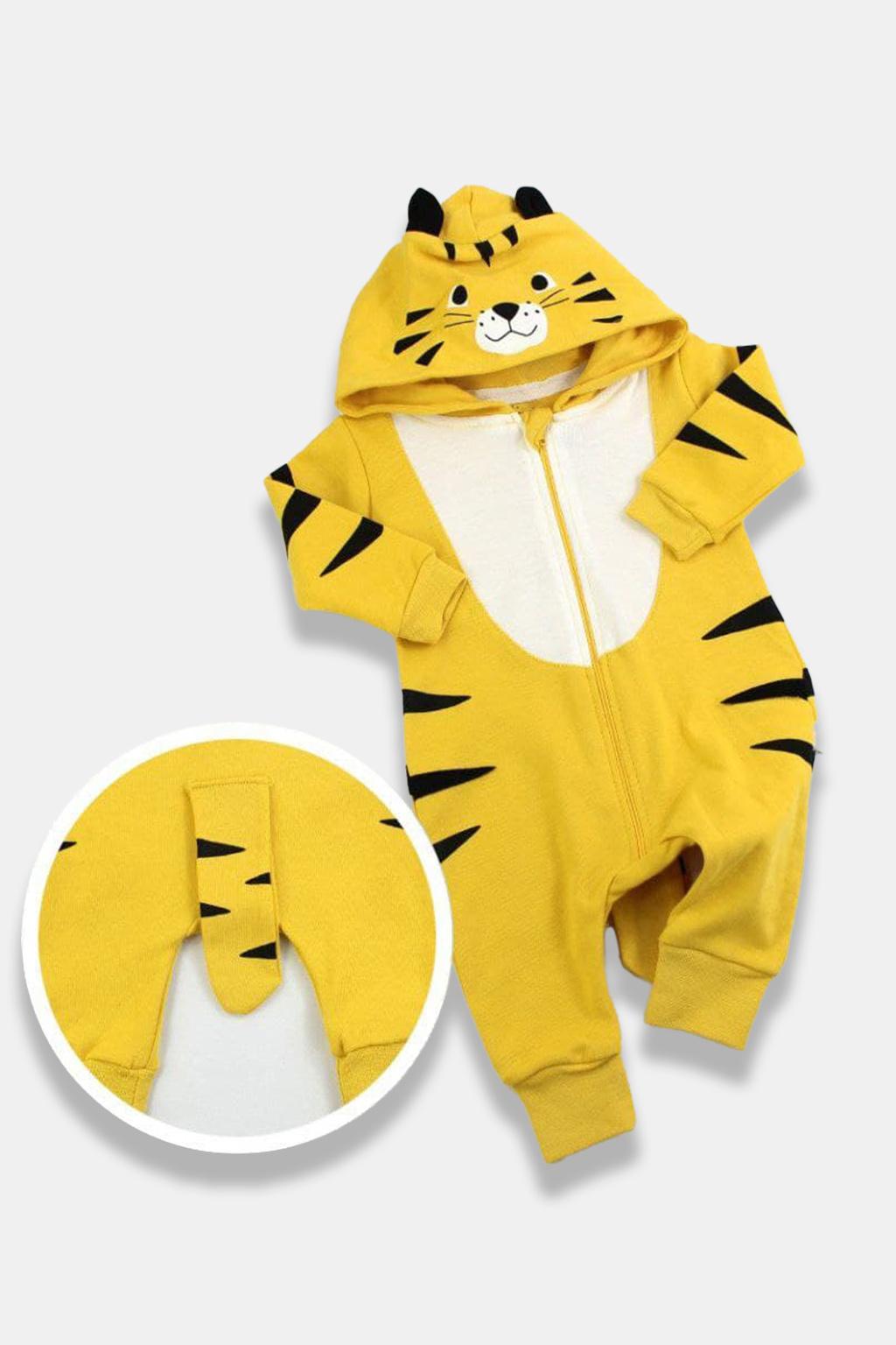 Overal pro miminko Tiger, žlutá