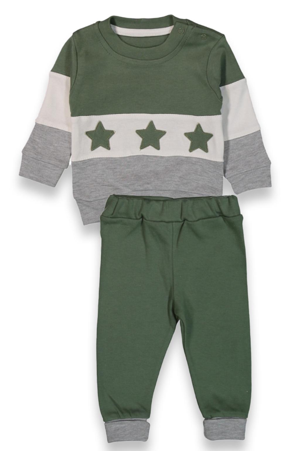 Dětská tepláková souprava Star khaki, zelená
