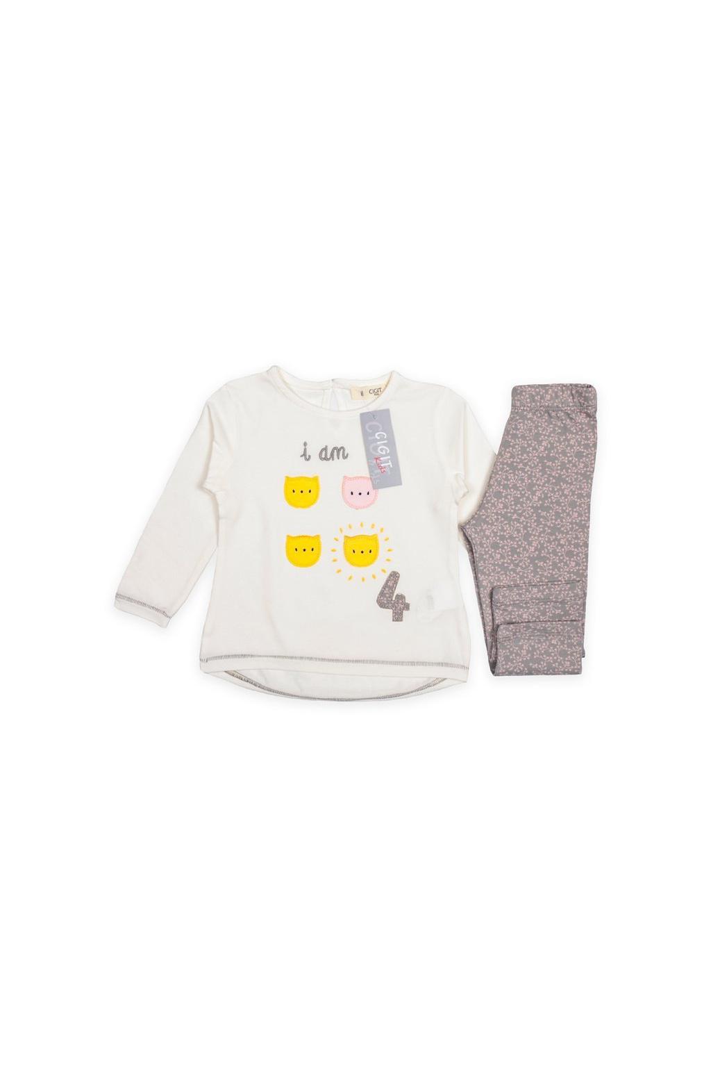 Set - prodloužené triko a legínky Cigit Kids