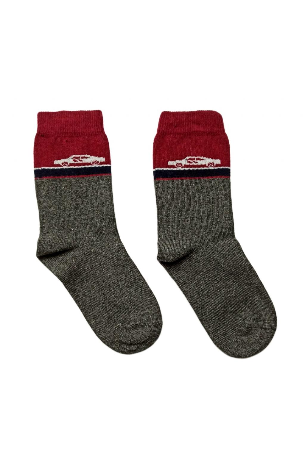 Dětské ponožky sede barve