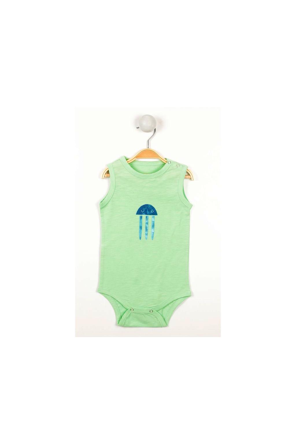 Kojenecke body meduzy zelene