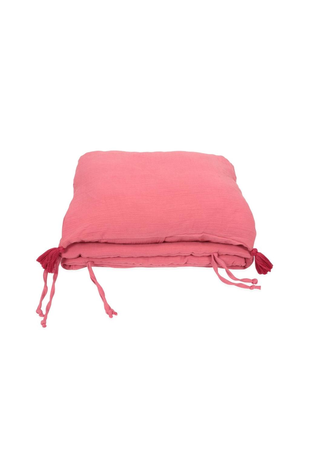 Mušelínový luxusní polštář a mantinel