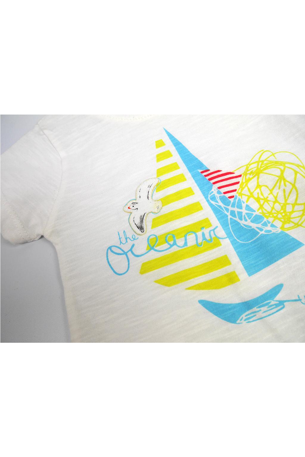 Oceanic chlapecký letní set tričko s krátkým rukávem