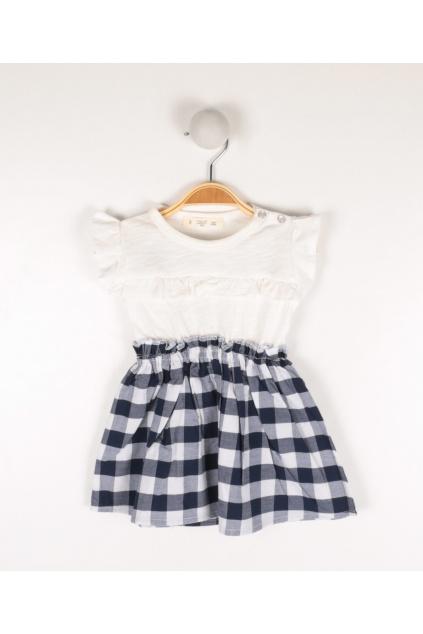 Dívčí šaty s volánky