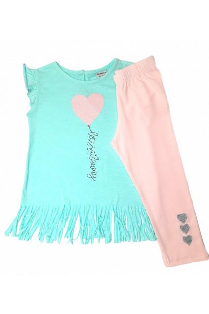 Dívčí roztomilý set tričko a legíny 3 1