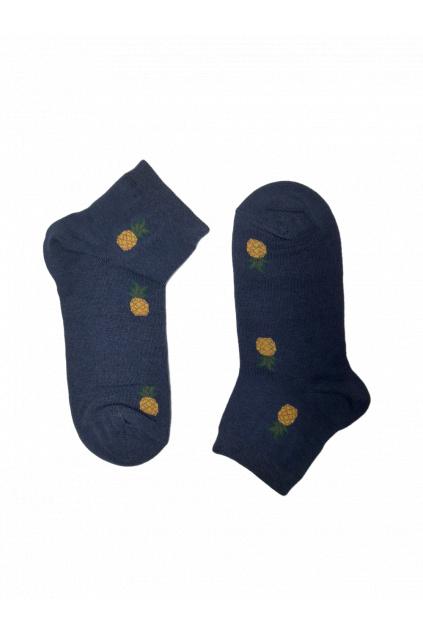 Kotníkové dámské ponožky Ananas