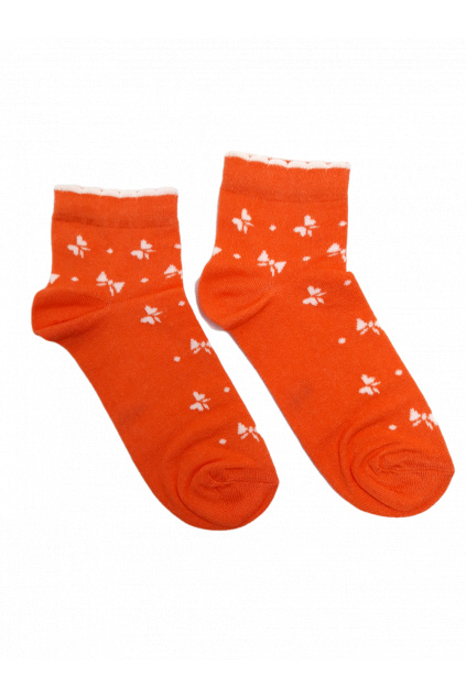 damske ponozky orange