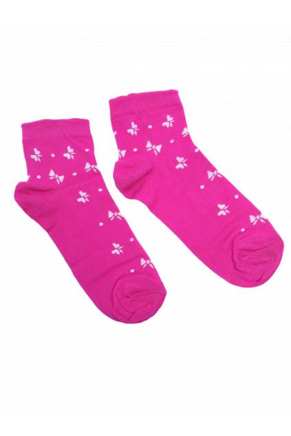 damske ponozky fuch