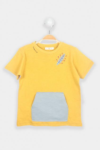 Stylové chlapecké tričko s krátkým rukávem